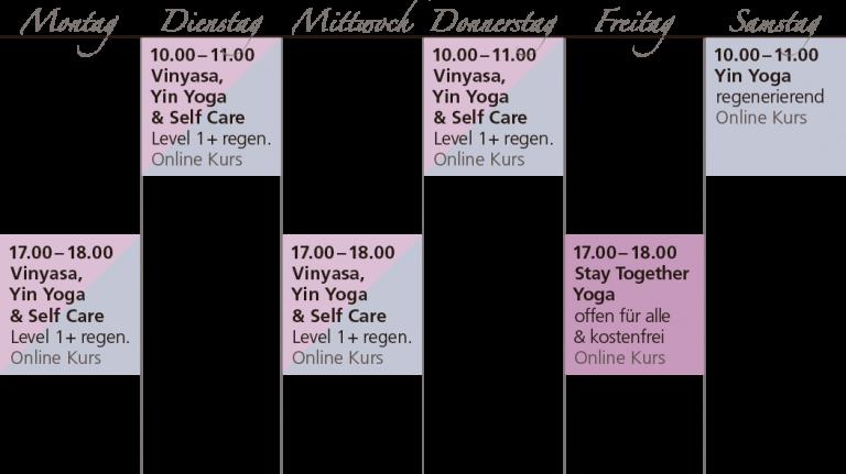 Online-Kurse bei Bliss Yoga & Self Care in Leipzig
